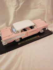 1958 Edsel Citation Pink 1/18 Scale Hard Top Vintage Car Model Road Legends