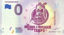 BILLET 0 EURO FUTUROSCOPE LA MACHINE  VOYAGE .2019-4 N° INDIFFERENT