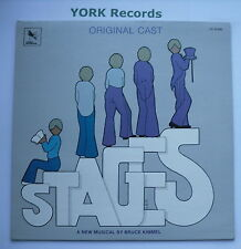 STAGES - A Musical Comedy - Original Cast Recording - Excellent Con LP Record