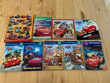 Cars - Disney Pixar - 9 Book Lot Set - Kids, Children, Young Adult Stories!!