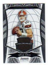 BRADY QUINN  NFL 2009 BOWMAN STERLING JERSEY CARD  (BROWNS)  # / 189