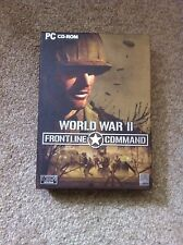 World War II Frontline Command Pc Cd-rom Vintage Computer Game