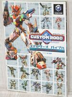 CUSTOM ROBO Battle Revolution Commander's Bible Guide Game Cube Book EB40*