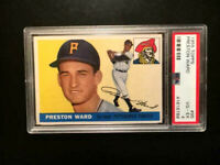 1955 Topps #95 Preston Ward PSA 4 VG-EX Pittsburgh Pirates Baseball Card-HI-END
