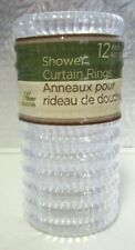 SHOWER CURTAIN RINGS..SET OF 12