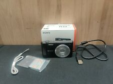 Sony Cyber-shot DSC-W800 20.1MP Digital Camera 5x Optical Zoom Black Read