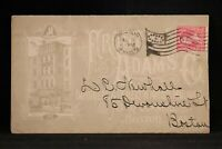 Ma: Boston 1898 Frost & Adams Artist Supplies Store Building Advertising Cover