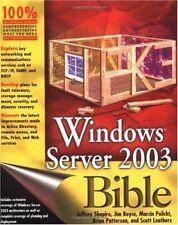 Windows Server 2003 Bible