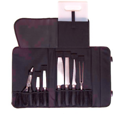 Camp Chef 9-Piece Professional Stainless Steel Knife Set w/ Cutting Board & Case
