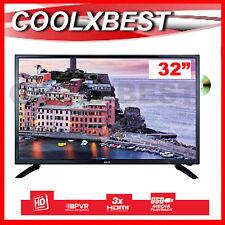 """32"""" HD DIGITAL LED LCD TV DVD PLAYER COMBO USB PVR MEDIA PLAYER 3 x HDMI"""