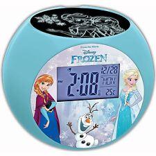 Reloj Despertador Proyector de Frozen de Disney Nuevo por Lexibook Kids Mesita de noche