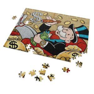 Mr Monopoly Art 252 Piece Puzzles Monopoly Game Mike Mozart Art Jigsaw Puzzles