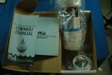 NSA Bacteriostatic Water Treatment Unit NSA 50C Countertop Water Filter  *NEW*