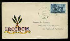 1946 WW2 PATRIOTIC SHERMAN #2616 MINKUS PUBLISHER WWII HAWAII HAND CANCEL