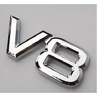 1X V8 3D CAR BADGE (STICKER) FOR HOLDEN COMMODORE HSV LS1 LS2 LS3 VE VF VS VY VR