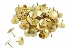 300 metallo da disegno PINS IN BOX UFFICIO CASA SCUOLA NOTE PANNELLO ottone arte