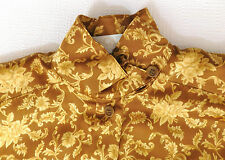 Escada Margaretha Ley silk blouse Floral pattern 38 UK size 12/14 vintage 1980s