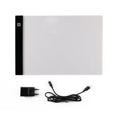 Table à Dessin A4 LED Tablette Lumineuse Réglable Professionnelle Ultra Plat