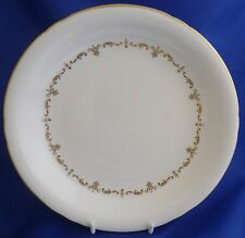 """A ROYAL WORCESTER 'GOLD CHANTILLY' 9 1/8"""" LARGE SOUP BOWL"""