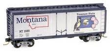 N Scale Micro-Trains Montana State Car - Road Number MT 1889