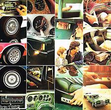 1977 Ford THUNDERBIRD T-BIRD Brochure/Catalog