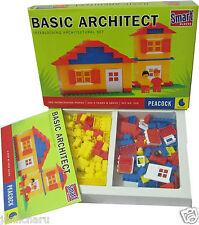 Basic Architect Smart Building Blocks for kids 180 pcs inerlocking pcs