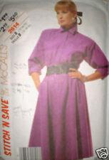 Vintage McCalls Pattern Dress 12 14 16 2614 SEWING SEW