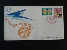 25 years Postel FDC 1970 Indonesia 83085