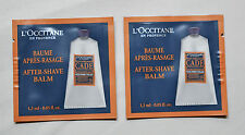 L'Occitane Cade After Shave Balm Sachets 2 x 1.5ml NEW