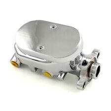 Universal Gm Smooth Top Aluminum Brake Master Cylinder Chrome
