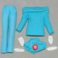 Barbie 1960s Skipper Clothes Fashion Outdoor Casuals Sweater Pants YoYo Nm/C