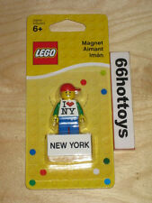 LEGO Magnet Lego Man Red Hat I Love NY New York 853317 NEW