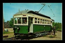 DR JIM STAMPS US 134 STREETCAR TROLLEY MUSEUM KENNEBUNKPORT MAINE POSTCARD