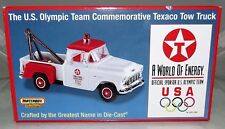 Matchbox 1955 Chevy U.S. Olympic Team Commemorative Texaco Tow Truck 1/43