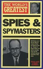 The World's Greatest Spies and Spymasters, Roger Boar & Nigel Blundell, Used; Go