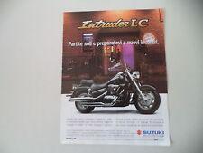 advertising Pubblicità 1998 MOTO SUZUKI INTRUDER 1500 LC