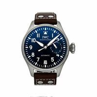 IWC Pilot Le Petit Prince Auto Steel Mens Strap Watch Date IW5010-02