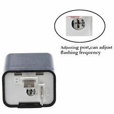 2 Pin Motorcycle 12V LED Flasher Relay Turn Signal Indicator Black For Yamaha
