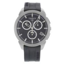 Relojes de pulsera titanio Tissot cronógrafo
