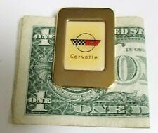 Money Clip Corvette Emblem