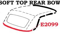 1959-1960 CORVETTE SOFT-TOP, RUBBER REAR BOW WEATHERSTRIP. REPLACEMENT FOR 56-58