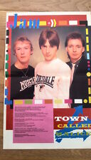 Jam Town Called Malice lyrics Centerfold magazine POSTER  17x11 inches