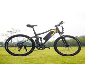 Electric Mountain Hybrid Bike 500W 17Ah Beach Snow Bicycle