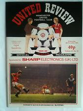 MINT 1985/86 Manchester United v Norwich City Screen Sport Super Cup