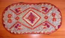 SUZANI - Handgestickter Tischdecke oder Wandbehang aus Usbekistan Seide Deko