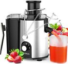 Centrifugal Juice Extractor 2021 Fruit Vegetable Juice Maker Machine Wide Mouth photo