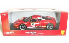 Ferrari 458 Challenge 12 Heritage 1 18 Model Hot Wheels