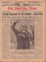 The Sporting News Magazine November 7 1964 Ara Parseghian 091117jhsn