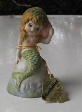 Vintage Mermaid Bell With Tag