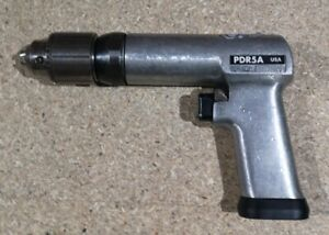 """PDR5A Snap On Pneumatic Drill Air Drill 1/2"""" Chuck Keyed"""